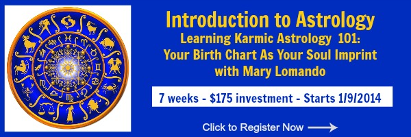 Introduction to Astrology Online Course with Mary Lomando