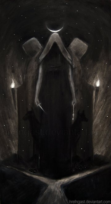 Hecate by hrefngast on Deviant Art