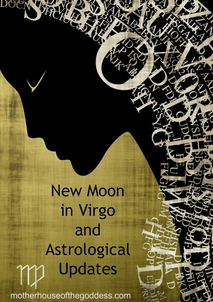 New Moon in Virgo and Astrological Updates September 2013
