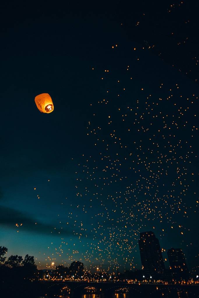 Remembrance and lanterns of light