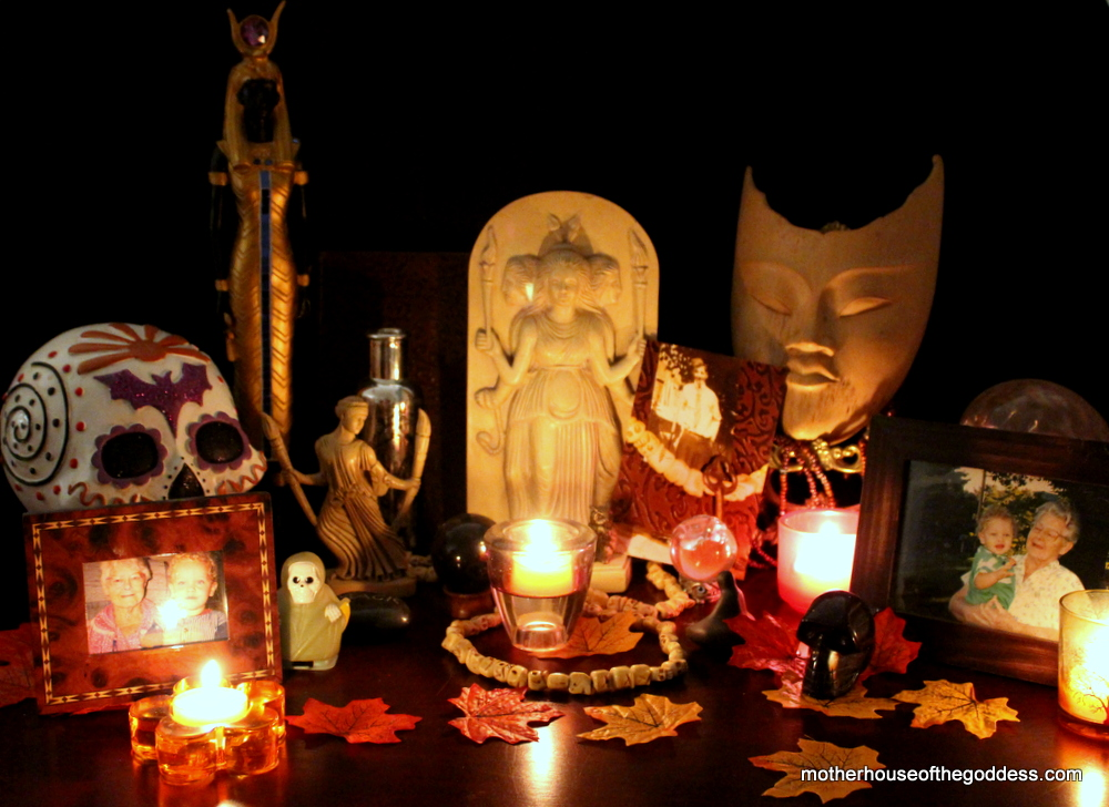 My Samhain Altar Kimberly MotherHouse of the Goddess