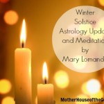 Winter Solstice Astrology Update and Mediation with the Goddess Maat by Mary Lomando MotherHouse of the Goddess