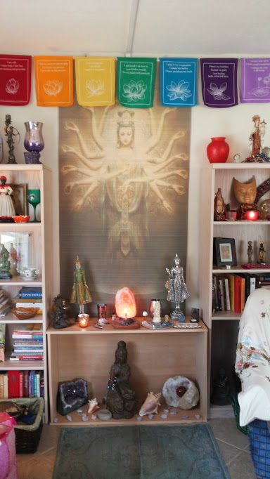 Kimberly Shakti Altar MotherHouse of the Goddess