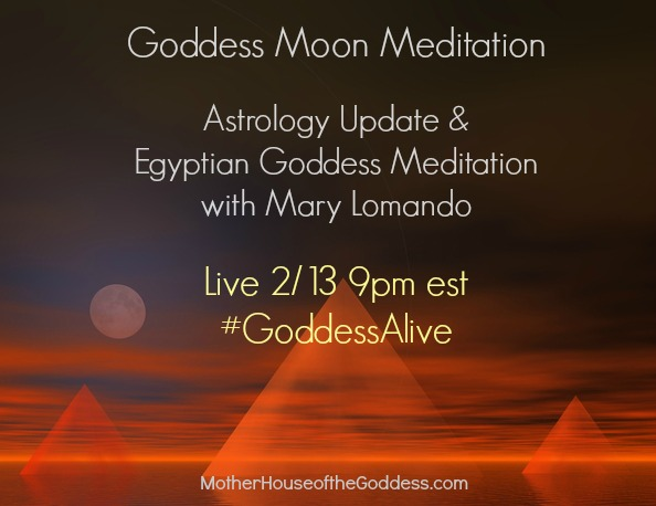Goddess Moon Meditation with Mary Lomando MotherHouse of the Goddess
