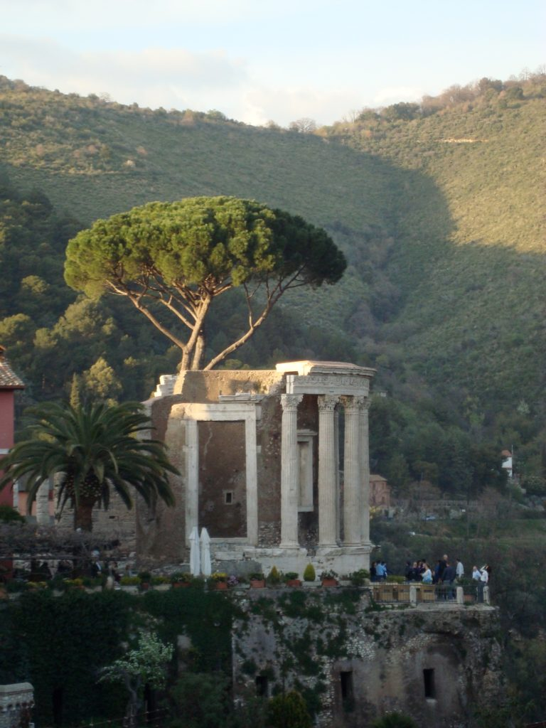 Temple of Vesta in Tivoli