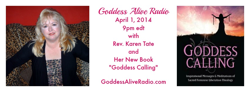 Goddess Alive Radio with Karen Tate Promo