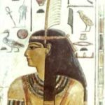 Goddess Maat with Feather