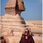 Mary Lomando at the Sphinx