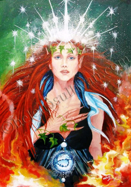 The Goddess Aine by Helen O'Sullivan