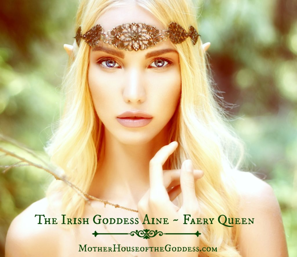 The Irish Goddess Aine Faery Queen Goddess Portal Page MotherHouse of the Goddess