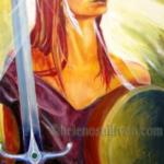 Queen Meadb Maeve Goddess by Helen OSullivan MotherHouse of the Goddess