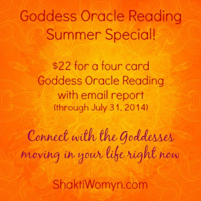 Goddess Oracle Reading Summer Special with Kimberly F Moore