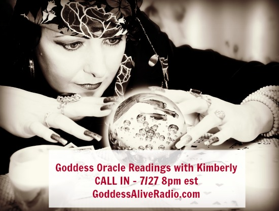 Goddess Oracle Readings with Kimberly F Moore Goddess Alive Radio