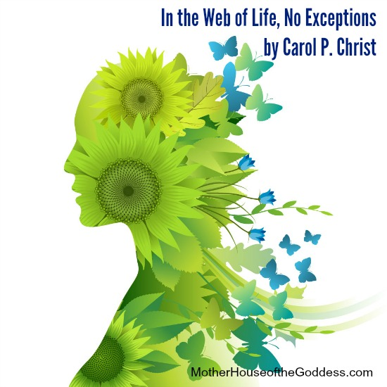 In the Web of Life No Exceptions by Carol P Christ MotherHouse of the Goddess