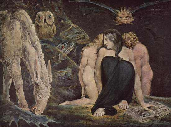 Hekate by William Blake