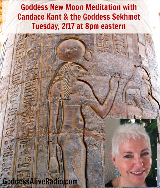 Goddess New Moon Meditation with Candace Kant and the Goddess Sekhmet Goddess Alive Radio