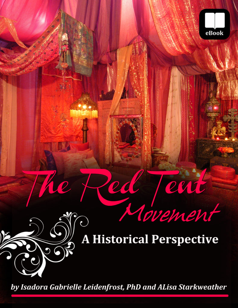 Goddess Alive Radio Welcomes Dr Isadora Leidenfrost about her new eBook The Red Tent Movement a Historial Perspective