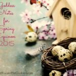 Goddess Notes – Spring Equinox 2015