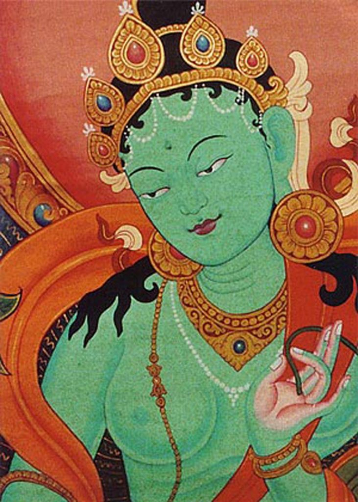 Green Tara the Goddess Portal Page
