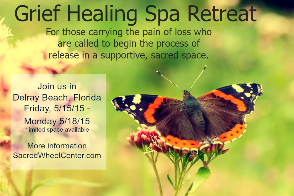 Grief Healing Spa Retreat May 2015 in Delray Beach Florida with Cheryl Downey