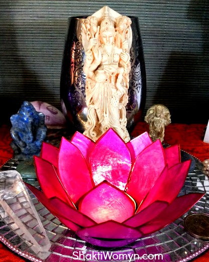 One of my Lakshmi Altars (I have several)