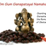 Om Gum Ganapatayei Namaha - Chanting to Ganesha as the Remover of Obstacles for Spring and Energy Clearing by Kimberly F Moore MotherHouse of the Goddess