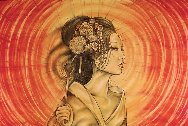 The Japanese Goddess Amaterasu - Shining the Light of Your Beauty by Kimberly F Moore for MotherHouse of the Goddess