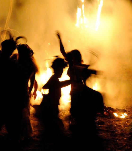 Beltane Fire from Pinterest- Artist Unknown