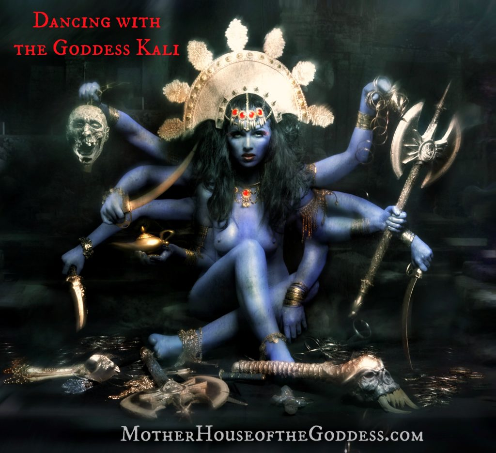 Dancing with the Goddess Kali - Goddess Portal Page MotherHouse of the Goddess