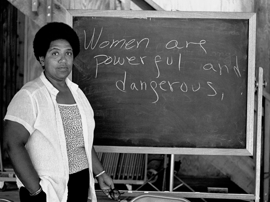 Women are powerful and dangerous audre-lorde
