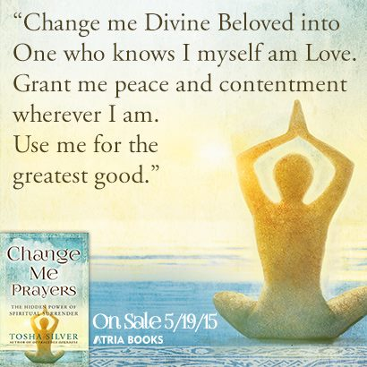Change Me Divine Beloved Tosha Silver
