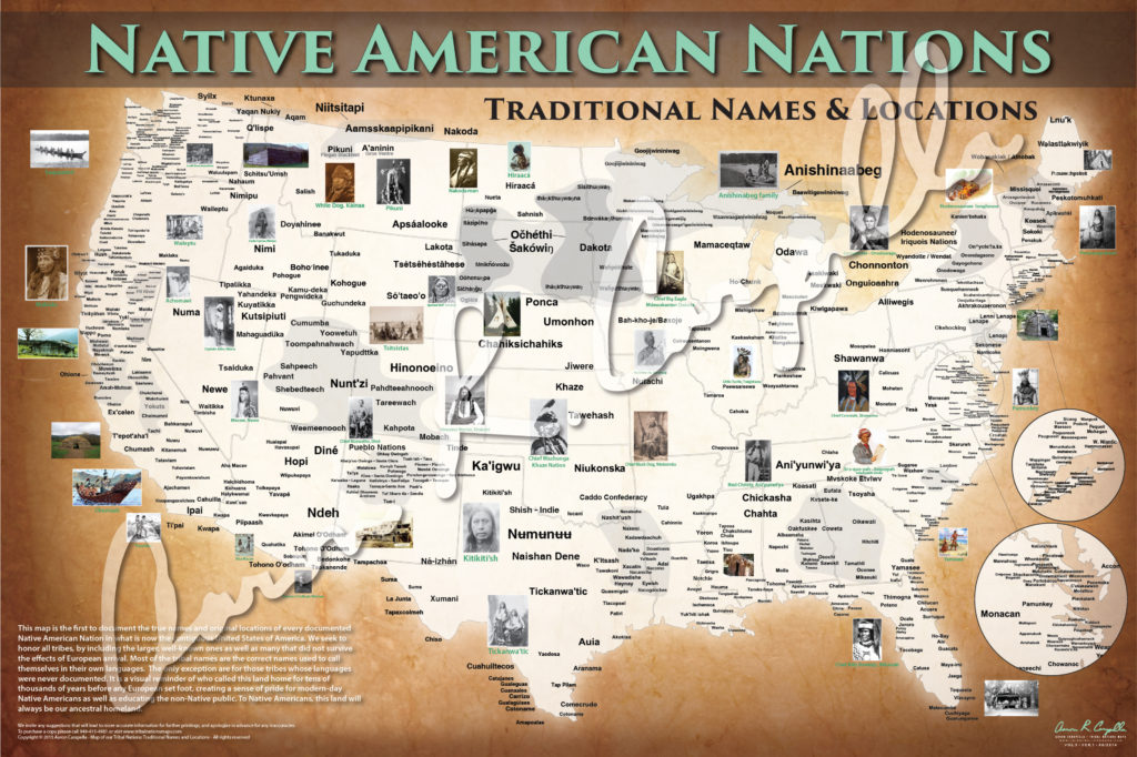 Native American Nations - Tribal Nations Maps