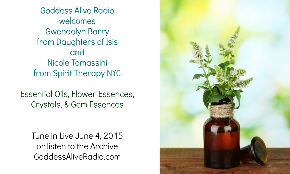 Goddess Alive Radio with Gwen Barry from Daughters of Isis and Nicole Tomassini from Spirit Therapy NYC MotherHouse of the Goddess