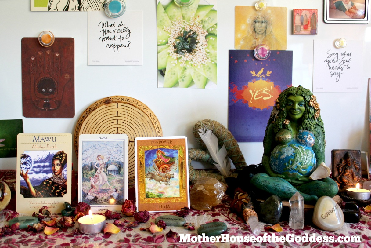 Goddess Card Readings June 8 Mawu Flora Freya MotherHouse of the Goddess
