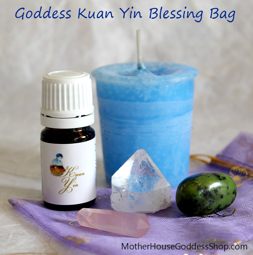 Goddess Kuan Yin Blessing Bag on MotherHouse Goddess Shop