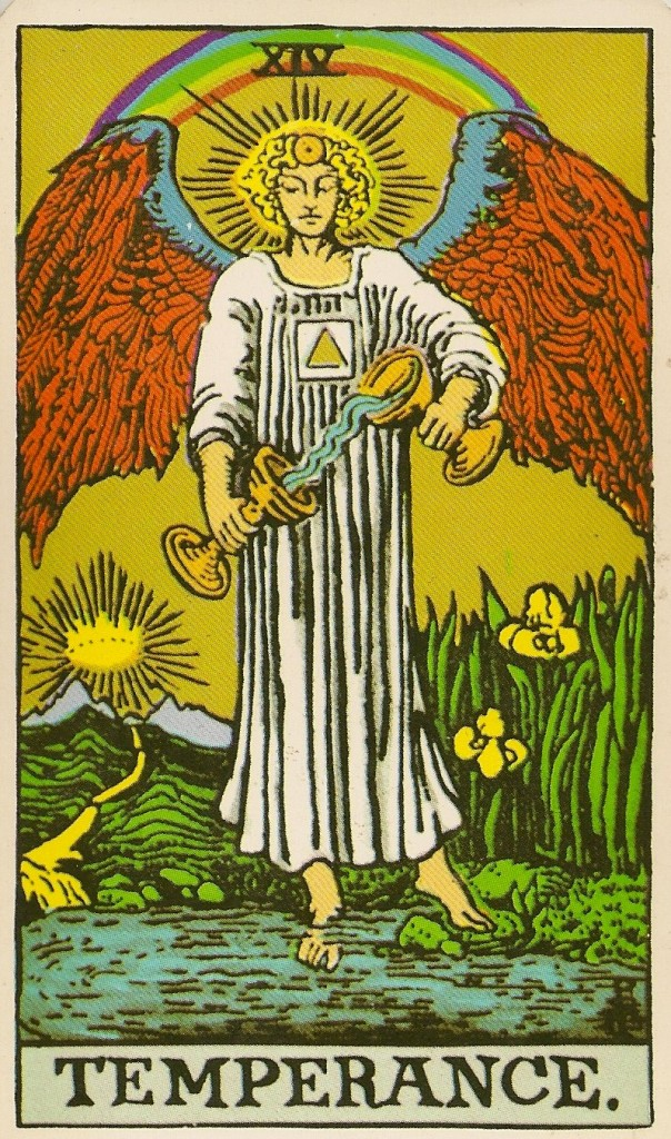 Image result for temperance tarot card