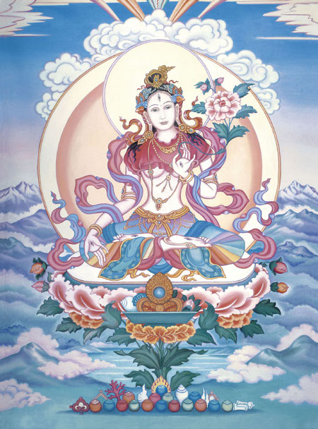 White-tara-in-mountains