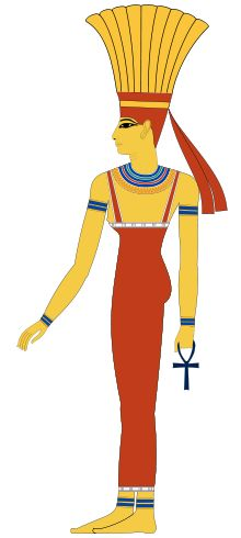 Egyptian Goddess Anuket Nile River Goddess The Embracer