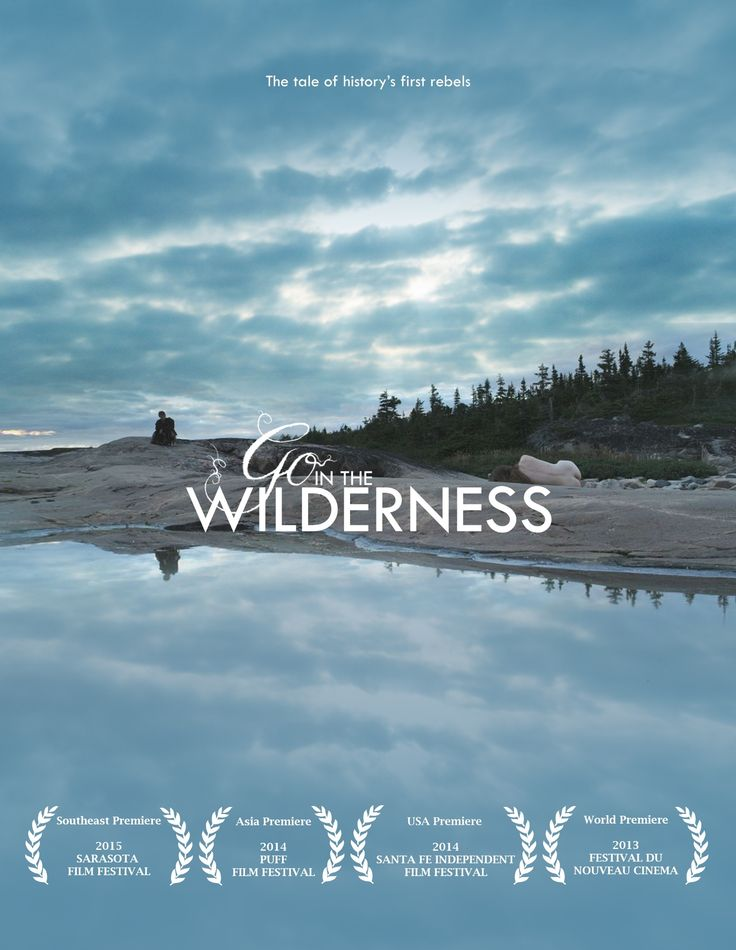 Go in the Wilderness Poster 2
