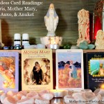 Goddess Card Readings Week of July 12 & New Moon in Cancer – Iris, Mother Mary, Auxo, Anuket