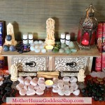 MotherHouse Goddess Shop Altar