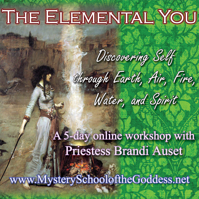 Elemental You Online Course with Priestess Brandi Auset