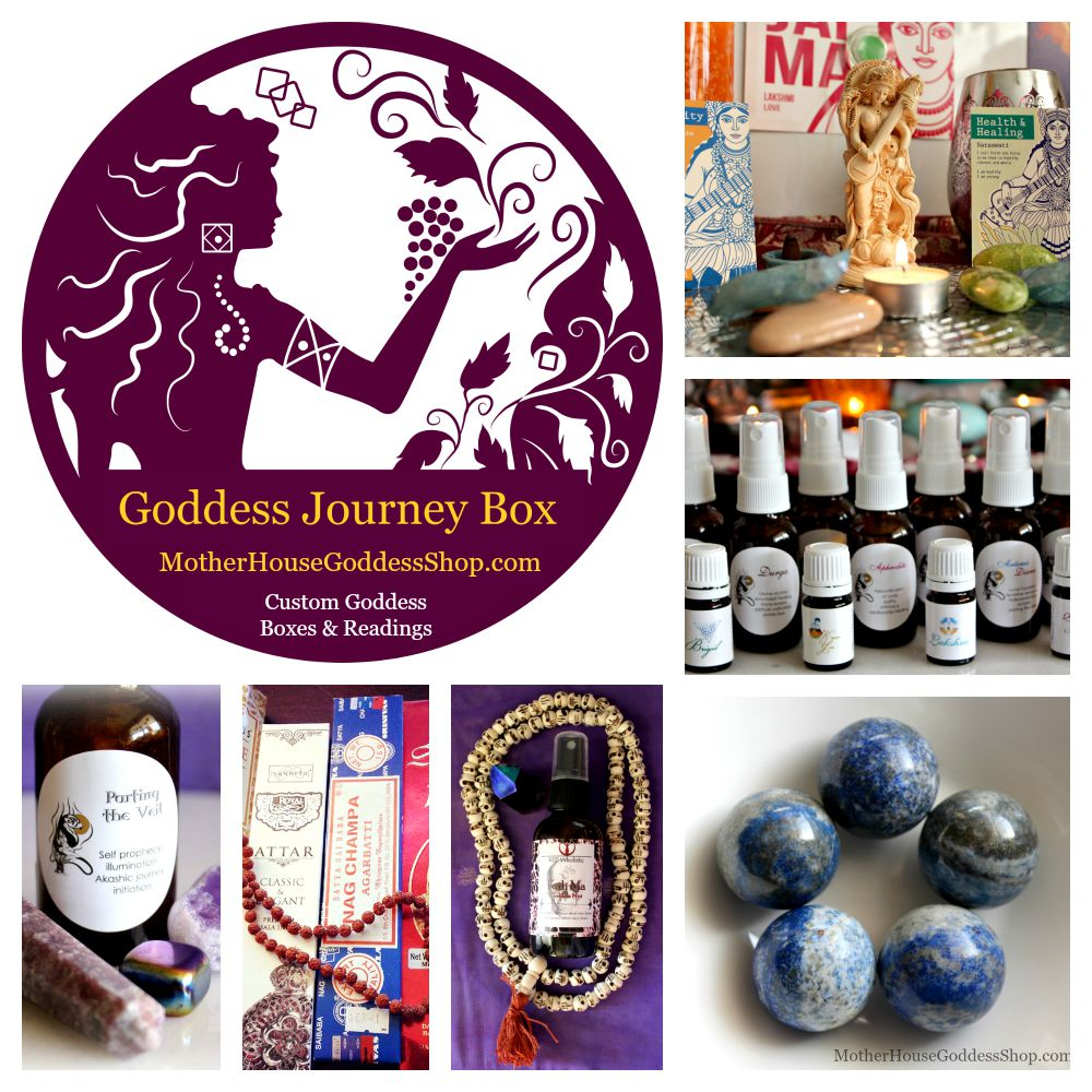 Goddess Journey Box with Goddess Card Reading from MotherHouse Goddess Shop