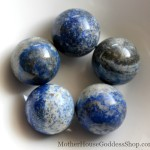 Lapis Lazuli 30mm Spheres MotherHouse Goddess Shop