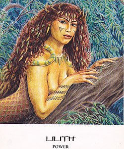 Lilith Power Goddess Oracle deck