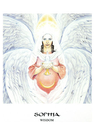 sophia goddess oracle cards