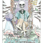 Hierophant Tarot of the Dead Monica Knighton