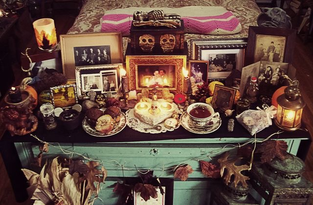 Honoring Our Ancestors this Hallows Eve by Melanie OLeary