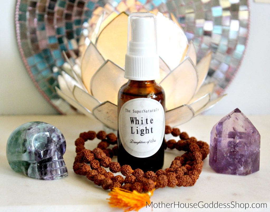 White Light Blessing Kit MotherHouse Goddess Shop