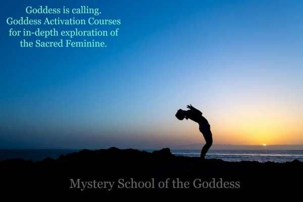 Goddess is calling - Goddess Activation Courses for Sacred Feminine exploration Mystery School of the Goddess Promo Slider